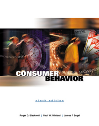 consumer behavior engel blackwell Consumer behavior by roger d blackwell, paul w miniard, james f engel and a great selection of similar used, new and collectible books available now at abebookscom.