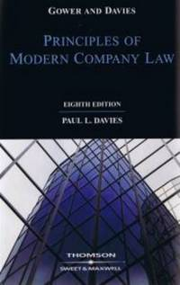 Gower and Davies' principles of modern company law by